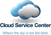 Cloud Service Center, where the sky is not the limit.